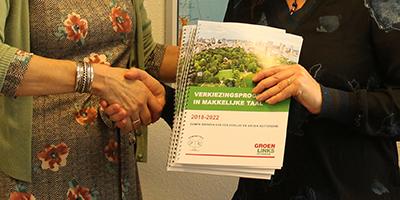 GroenLinks Rotterdam presenteert verkiezingsprogramma voor laaggeletterden