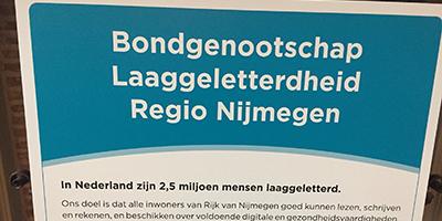 Samenwerking regio Nijmegen om laaggeletterdheid te verminderen